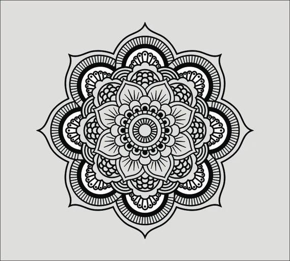 Download Mandala I svg ai dxf cdr eps jpeg png pdf wmf