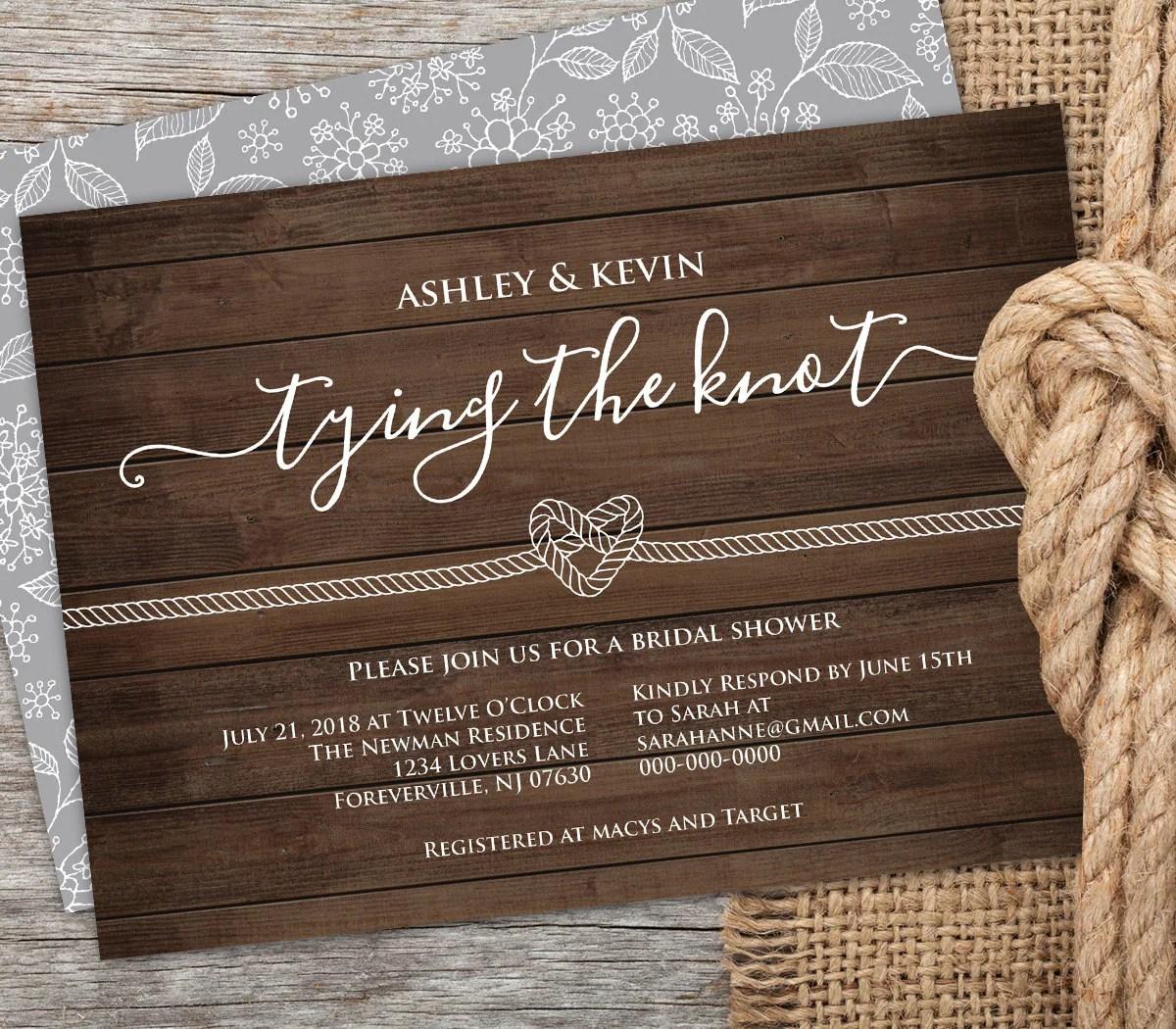 Invite Bridal Shower