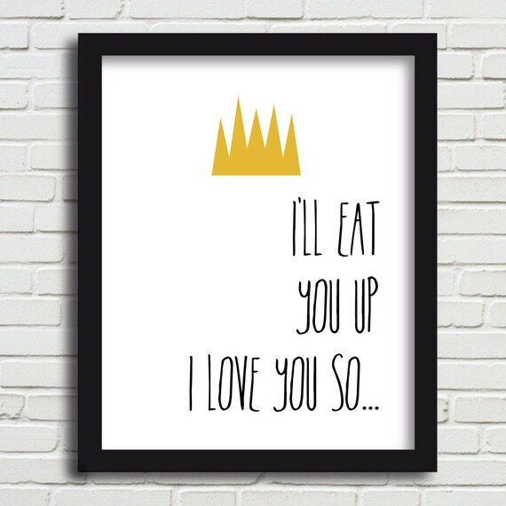 Download I'll eat you up I love you so // Where the wild things are