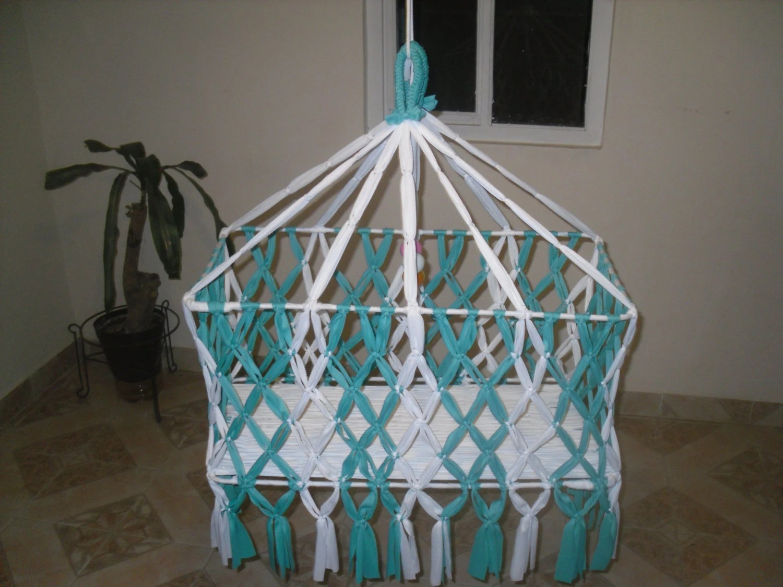 Handmade Baby Hammock Hanging Crib Hanging Cradle By