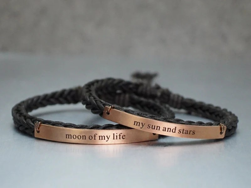 Game Of Thrones Bracelets Moon Of My Life My Sun And Stars