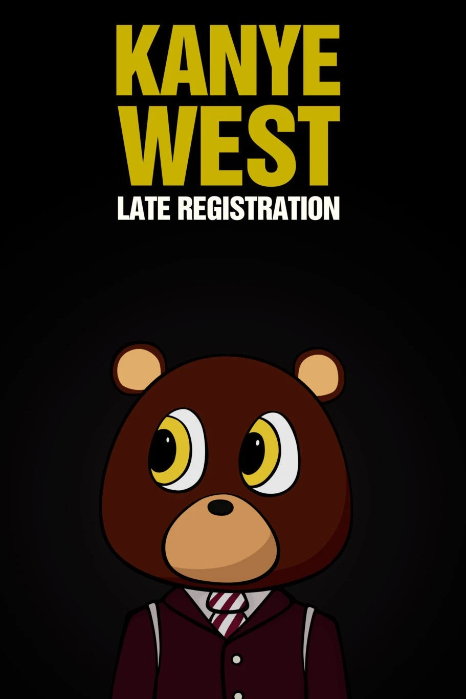Kanye West Late Registration Artwork