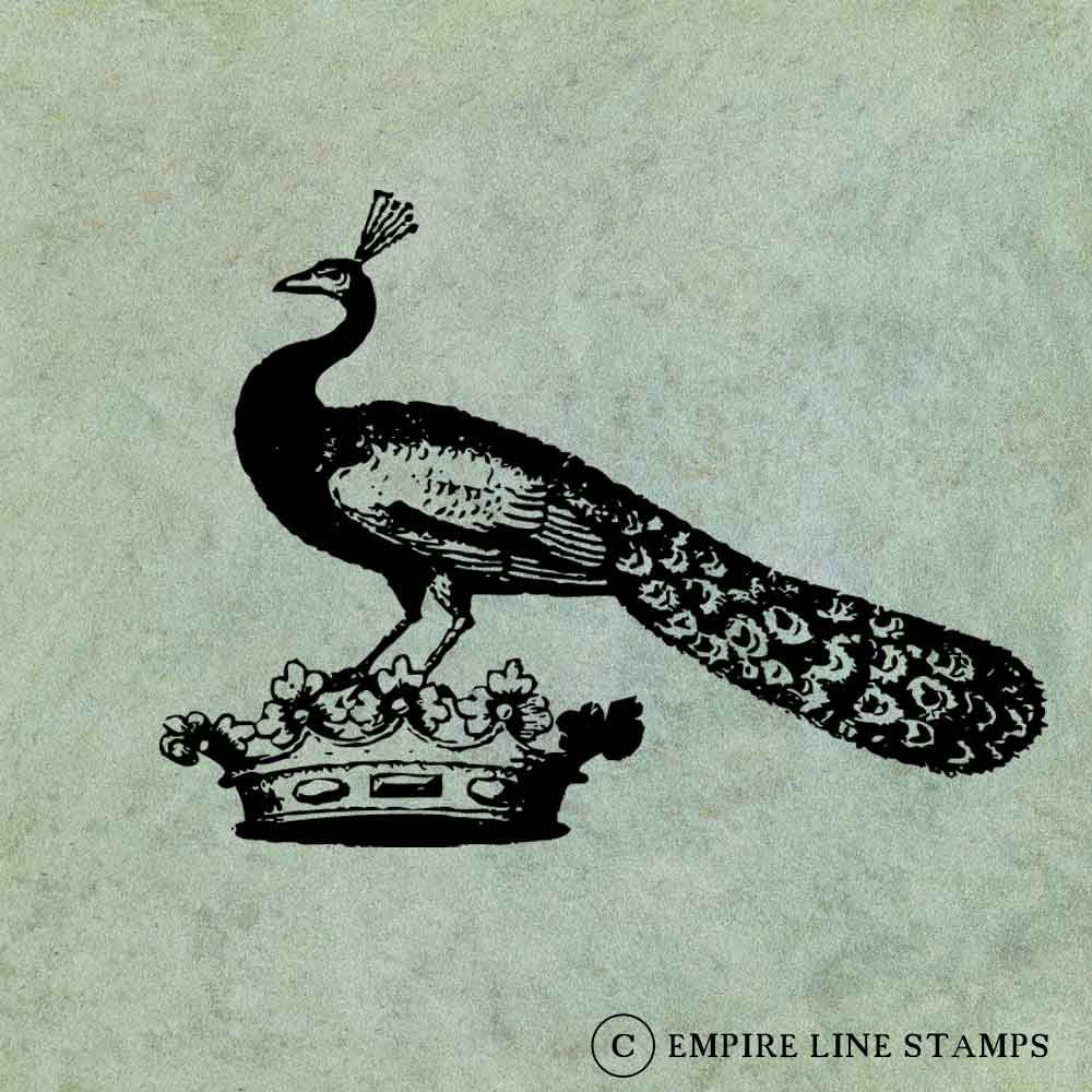 Peacock on a Crown - Anti...