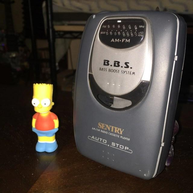 Sentry WM500 Bass Boost System BBS Vintage Retro Walkman Cassette Tape Player & AM/FM Radio // Sony Analog Digital vibes kush vaporwave