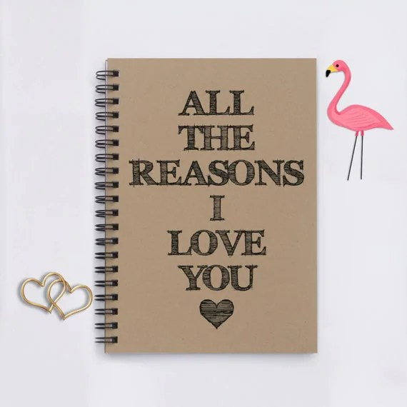 Download reasons All the Reasons I Love You 5x7 Journal