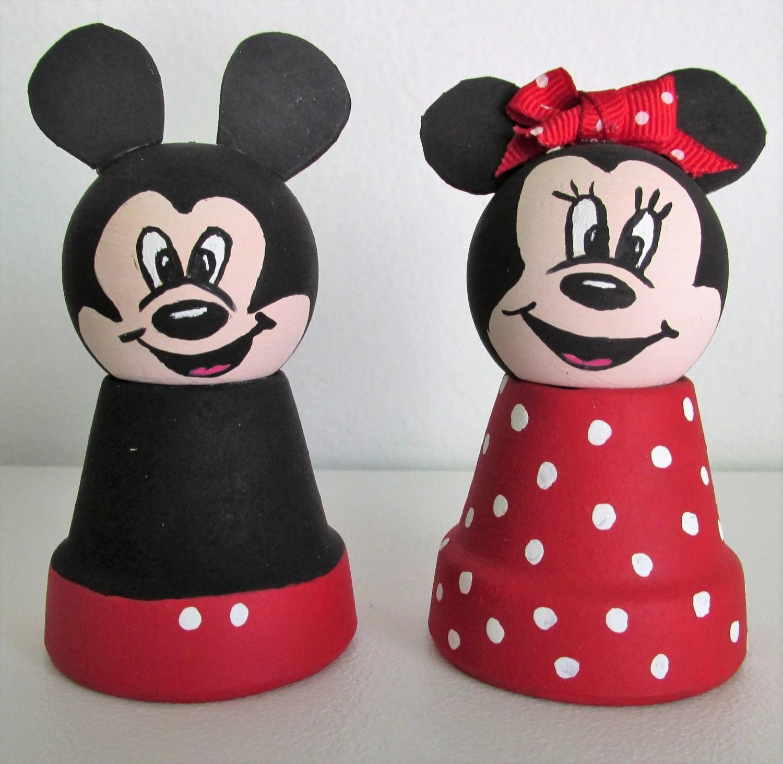 Miniature Terracotta Pots