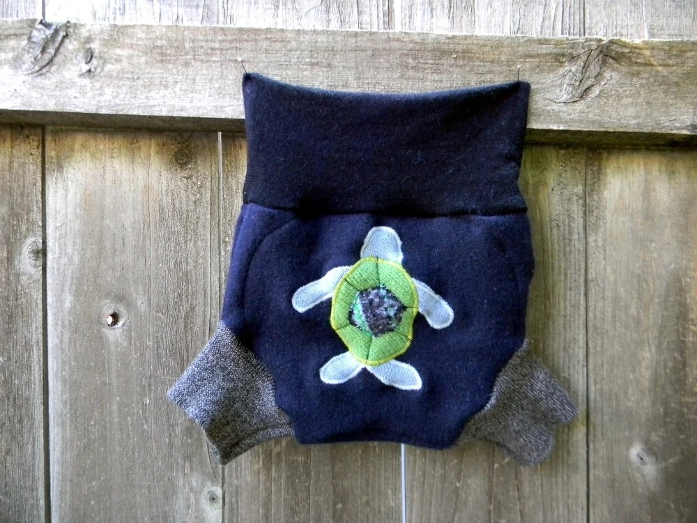 Upcycled Wool Diaper Cover Pattern
