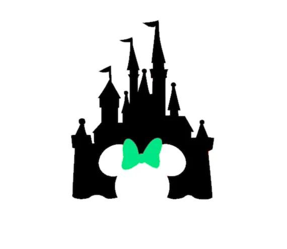Mermaid Castle Silhouette