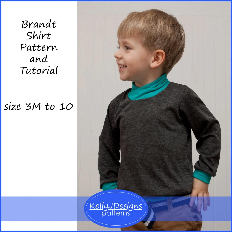 Brandt Shirt Pattern Children S Shirt Sewing Pattern