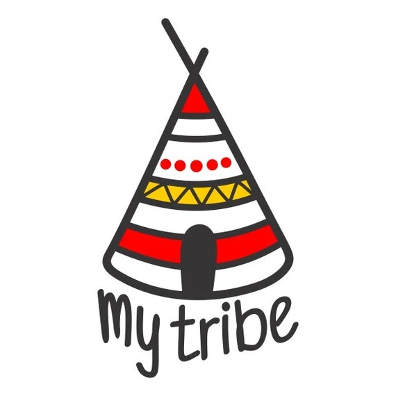 Download I Love My Tribe and Raising My Tribe Family Cuttable Design