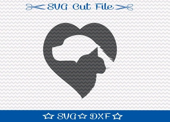 Download Dog and Cat SVG Cut File / SVG File for Silhouette / Animal