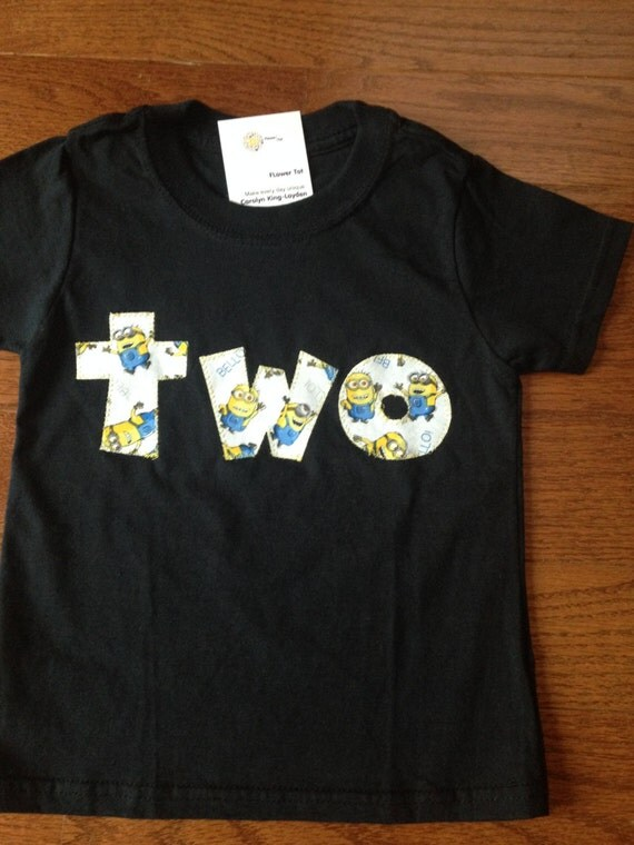 Minion 2nd Birthday T Shirt