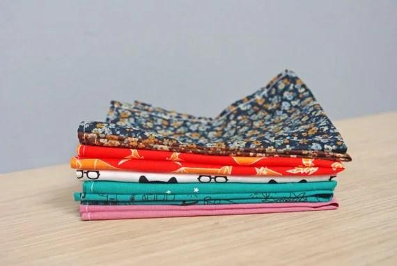 Mouchoirs en tissus de la boutique Esty : GodSaveTheTeaTime