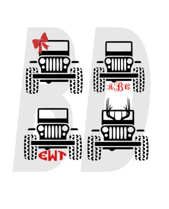 Download Jeep his and hers SVG eps dxf cricut air silhouette