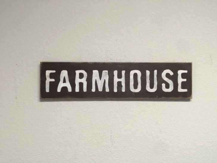 Shipping Farmhouse Sign Kitchen Signs Primitive