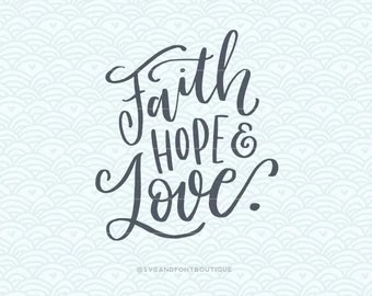 Download Faith calligraphy | Etsy