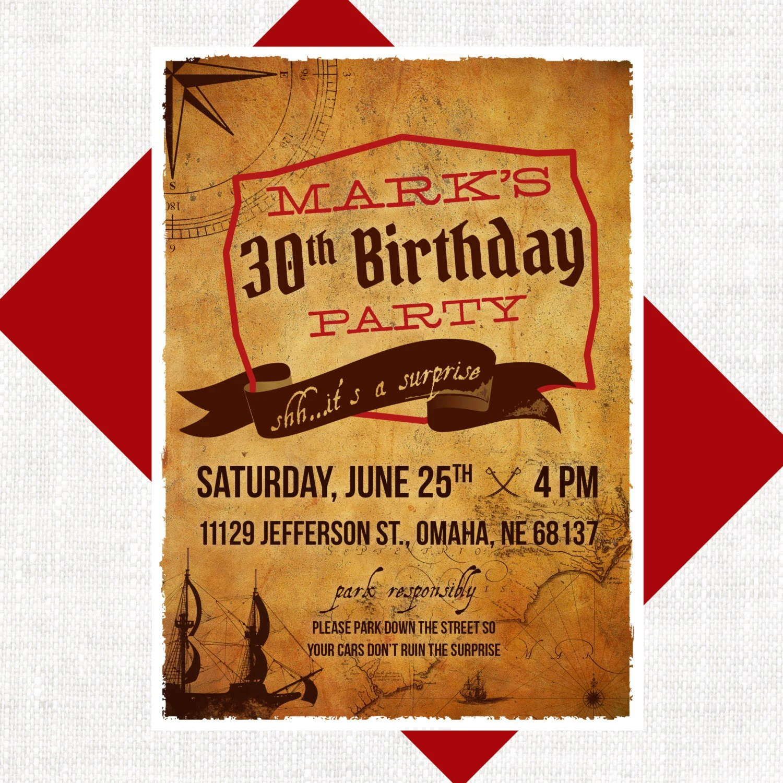 Order Birthday Invitations