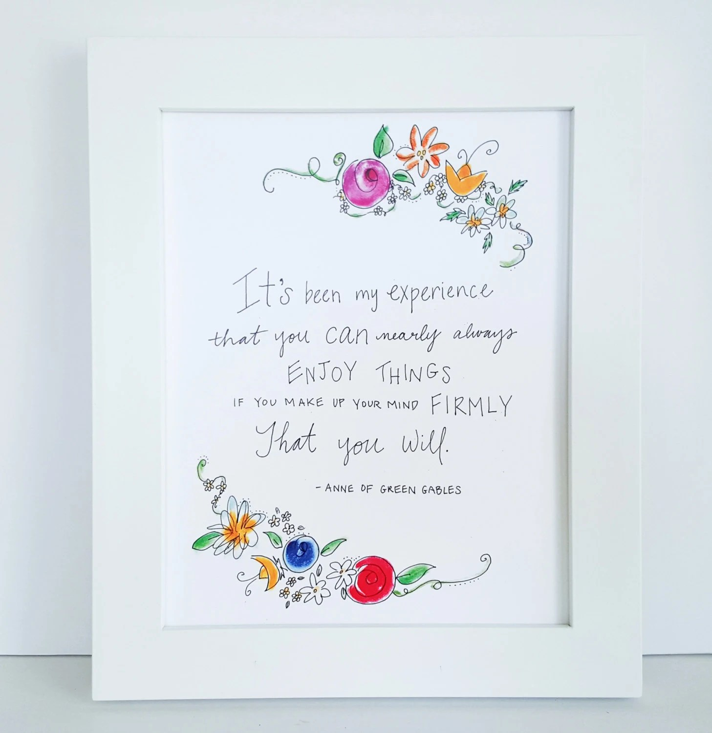 Anne Of Green Gables Quote Anne Of Green Gables Print