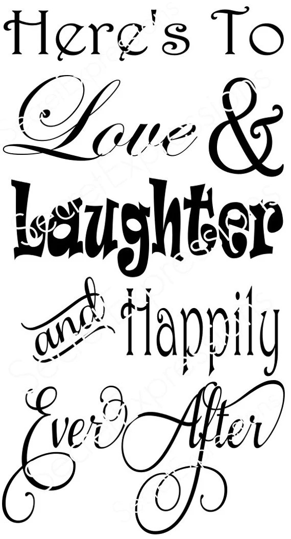 Download Here's To Love & Laughter and Happily Ever by ...