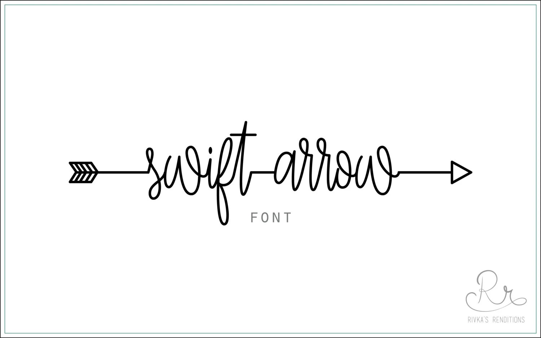 Swift Arrow Font Download Otf Ttf Open Type Fonts