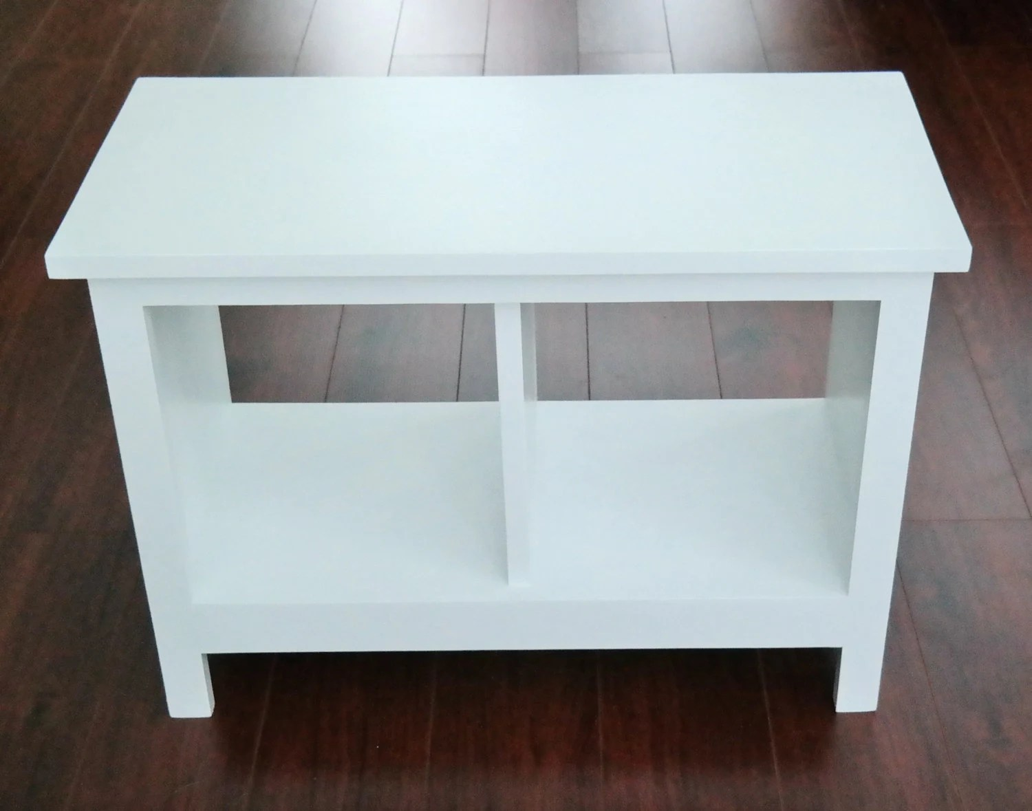24 Inch Painted Entryway Bench Shoe Cubby Cubby Storage Bench