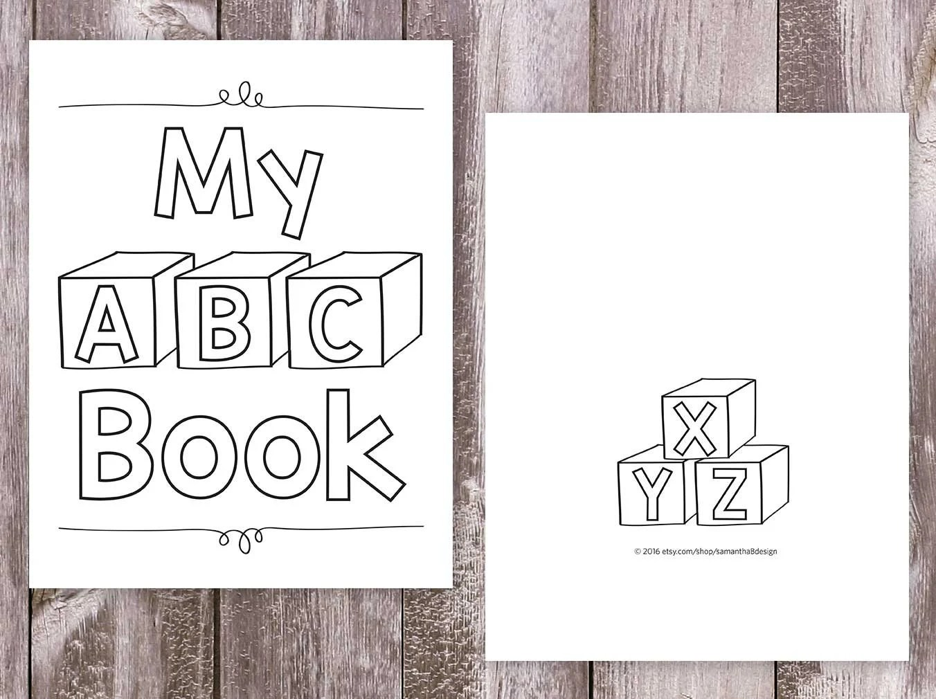 Alphabet Coloring Books Printable Coloring Pages My