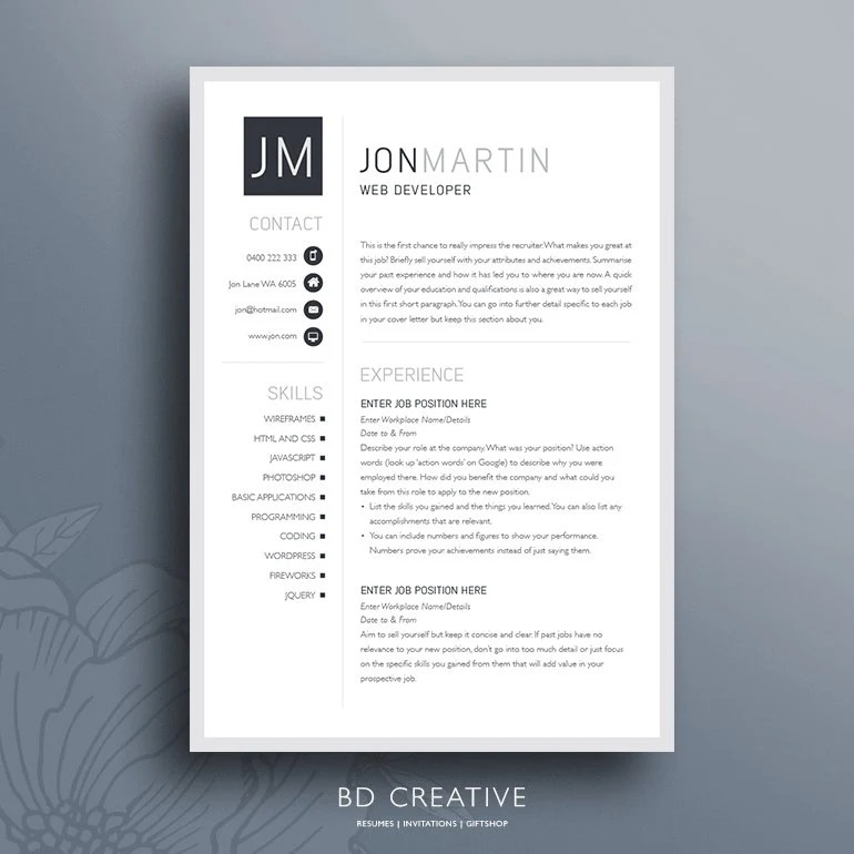 The Resume Boutique Example Manager Free Sample