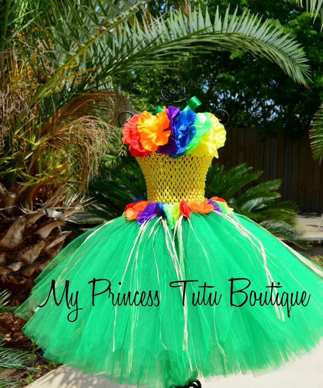 Luau Tutu Dress Hawaiian Tutu Dress Little Girls Tutus