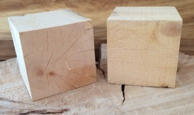 4 Inch Wood Squares Wooden Thing