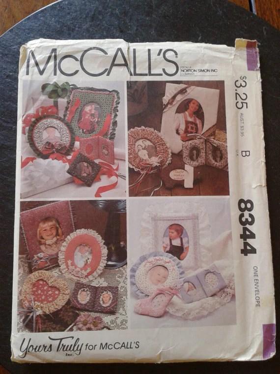 UNCUT McCalls Table Linen Craft Sewing Pattern 2446 DIY