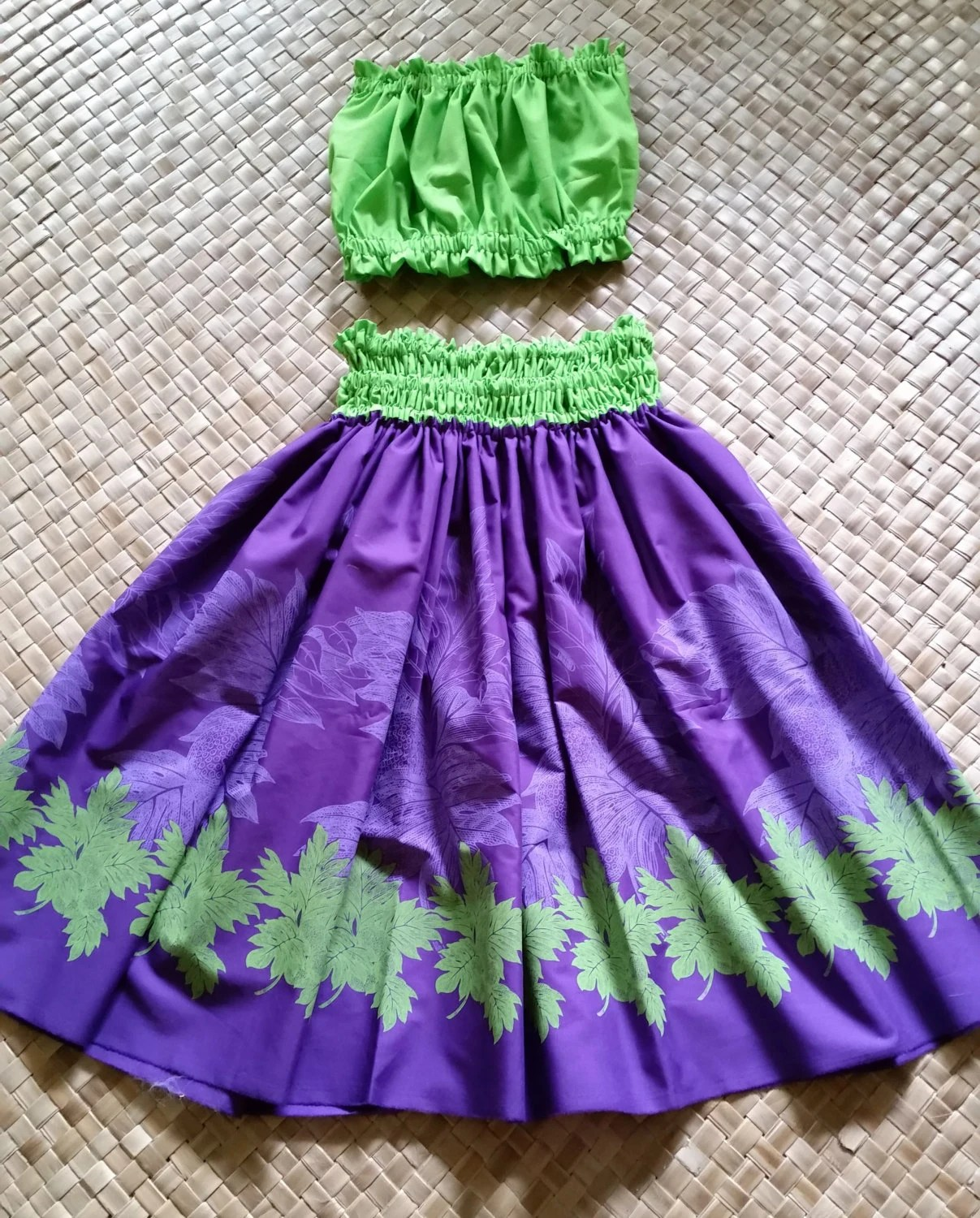 Royal Purple And Lime Green For A Splash Of Color In A Bright