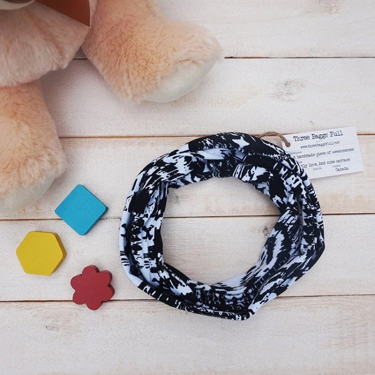 Knit Toddler Infinity Sca...