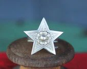 Solid Silver Antique Star...