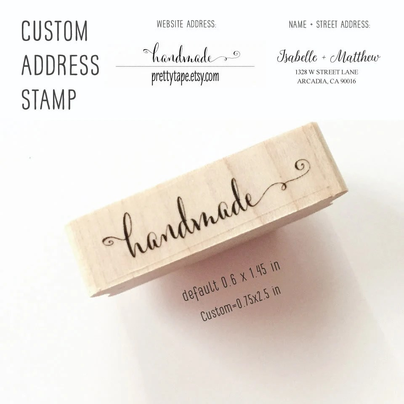 custom return label stamps