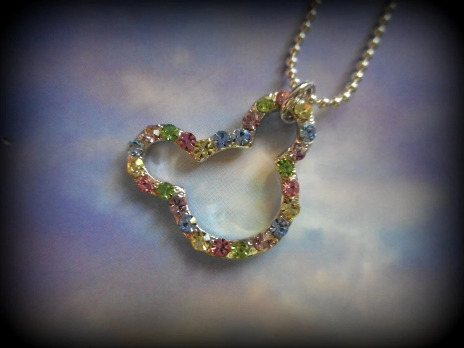 Agnes Oblige Wind Crystal Necklace Pendant Final By ShadowMoon