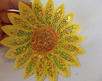 Sunflower Badge Etsy