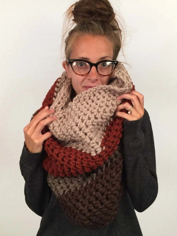 Extra Chunky Cowl by Rachyl Hougham