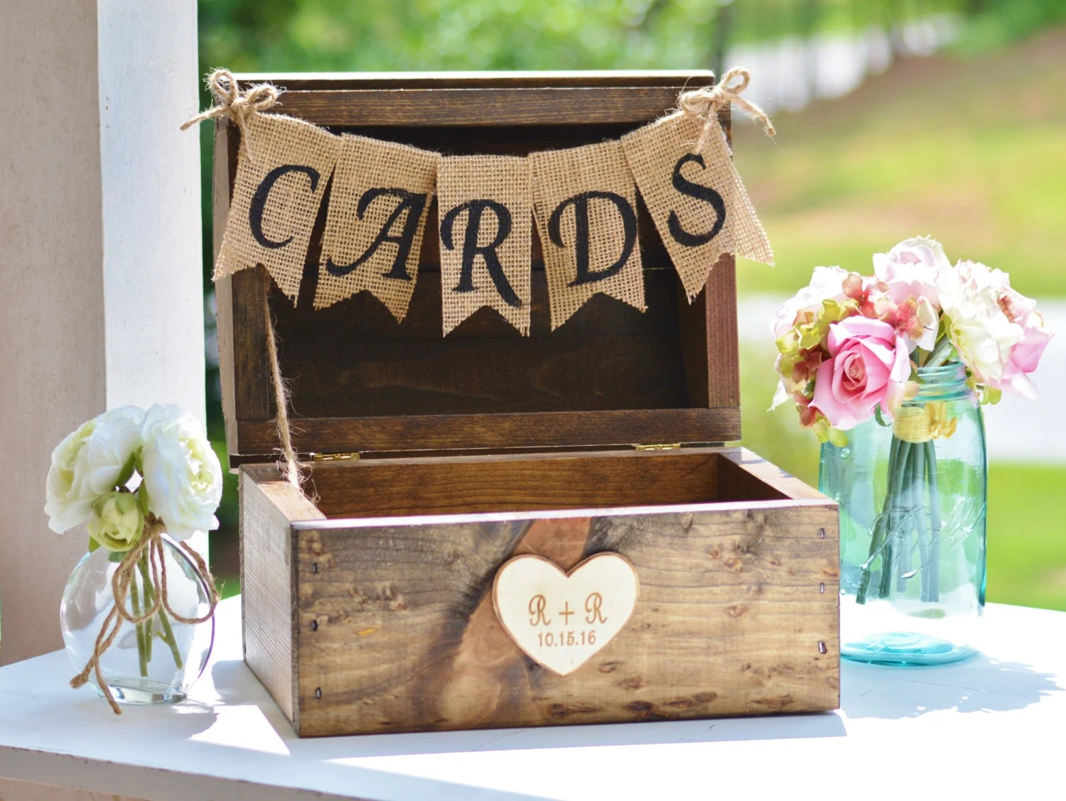 Ideas For Gift Table At Wedding Reception