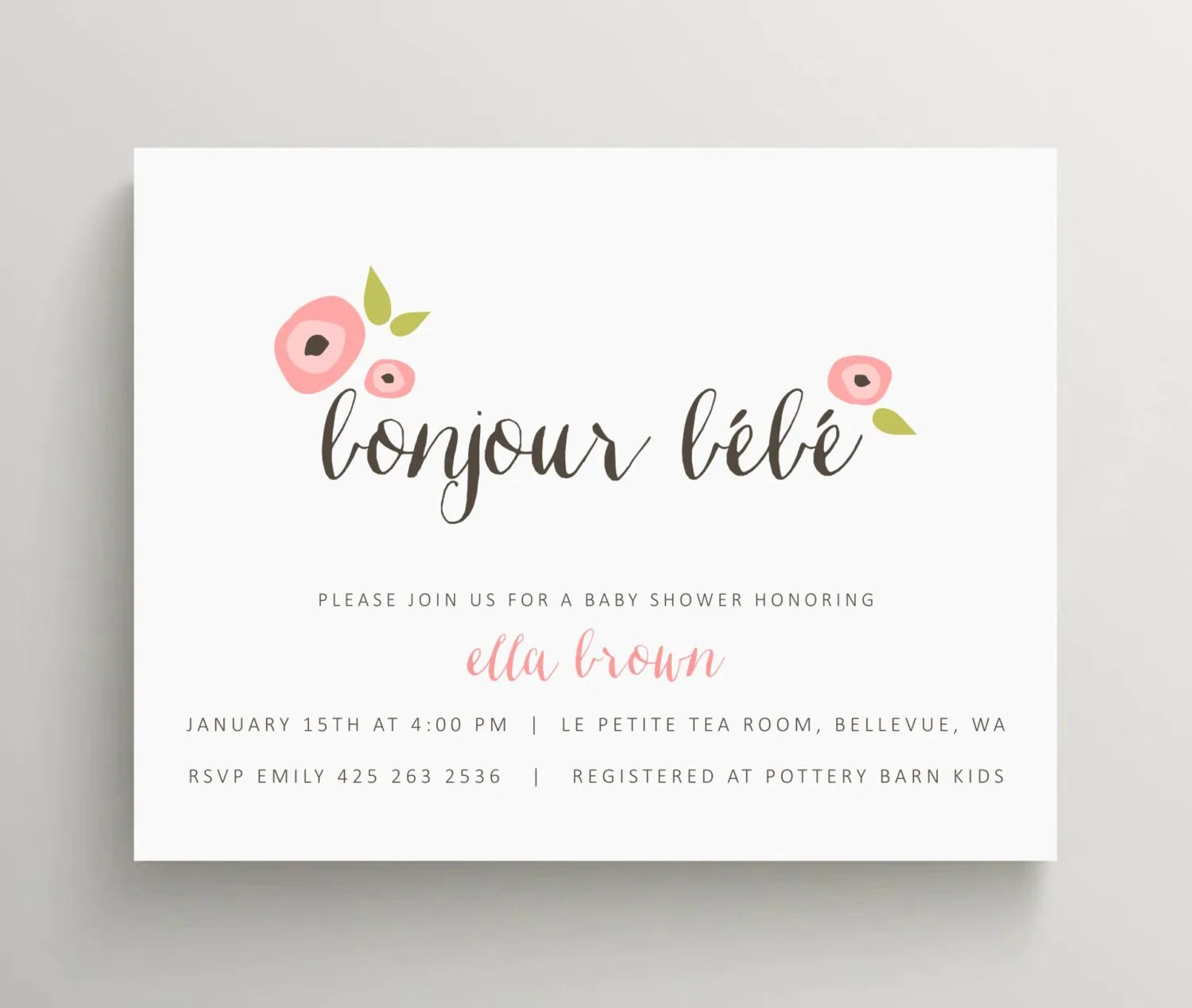 Wedding Announcement Cards