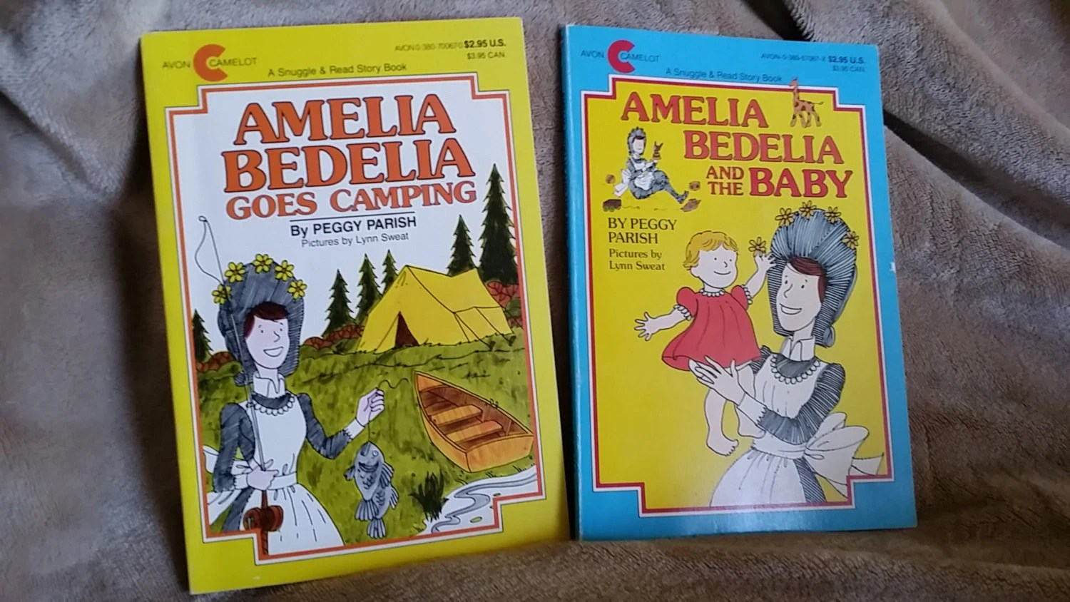 Amelia Bedelia And The Baby And Amelia Bedelia Goes Camping