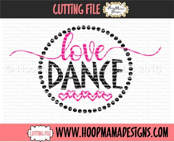 Download Love Dance SVG DXF eps and png Files for Cutting Machines