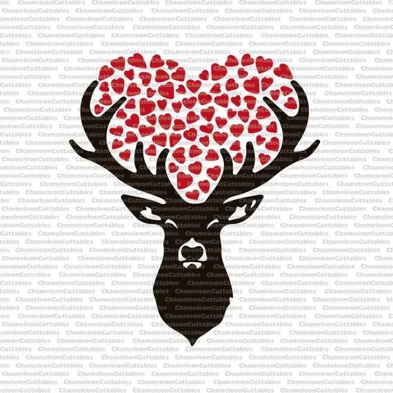 Download Deer Heart, svg, cut, file, decal, vector, silhouette ...