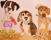 Pet Caricature, Custom Ca...