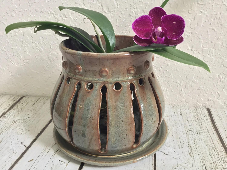 Shallow Clay Pots