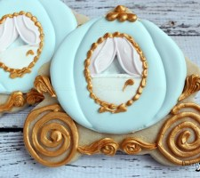 Cinderella Carriage Cookies Fairytale Wedding Favor