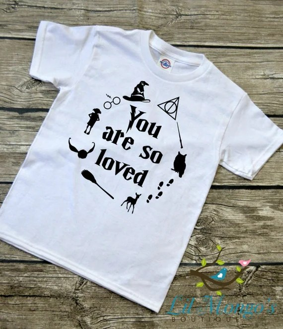 Download You Are So Loved Youth Harry Potter inspired Graphic T-Shirt