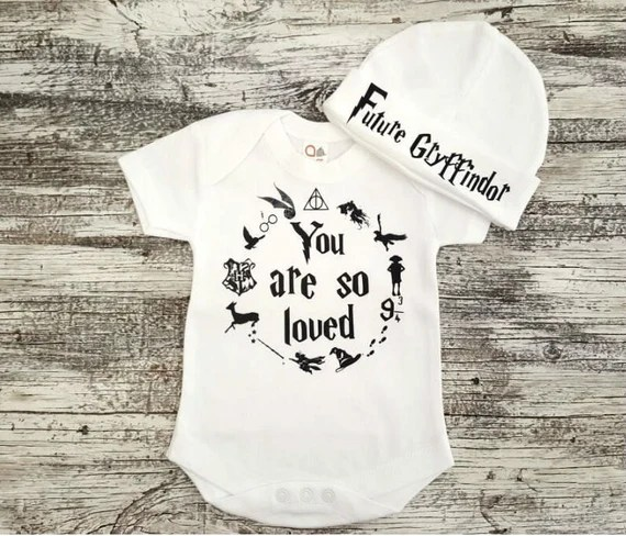 Download Baby Onesie / Harry Potter You Are So Loved Onesie & Hat