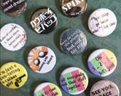 Cowboy Bebop buttons 1.25...