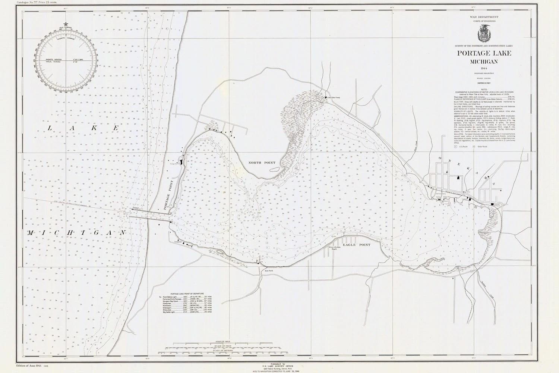 Marine Depths Lake Michigan Map | Wiring Diagram Database