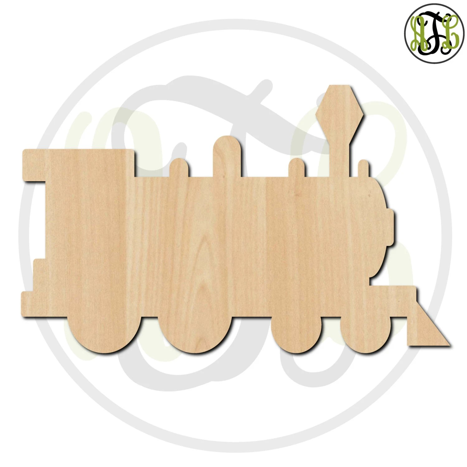 Train 2 To 6 Minis Small Wood Cutout Unfinished